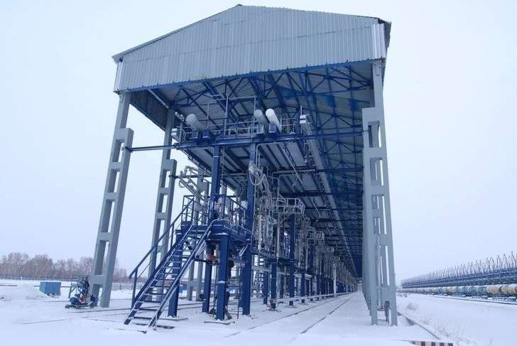Омский НПЗ внедряет передовые системы отгрузки нефтепродуктов Хорошие, добрые, новости, россия, фоторепортаж