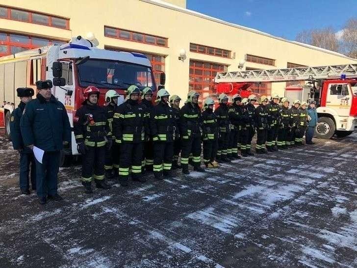 Пожарно-спасательная часть открыта в Южном округе Москвы Хорошие, добрые, новости, россия, фоторепортаж