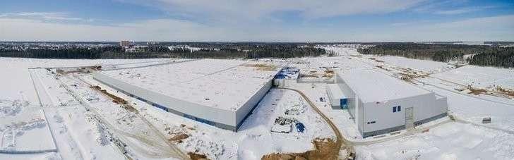 На заводе «Мерседес» в Московской области завершено возведение зданий производственного комплекса Хорошие, добрые, новости, россия, фоторепортаж