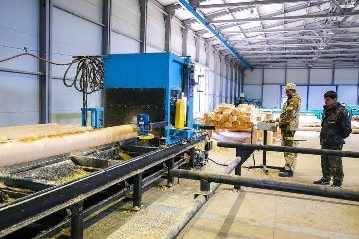 Уватский «Ровиал» запустил новый комплекс деревообработки в Тюменской области Хорошие, добрые, новости, россия, фоторепортаж