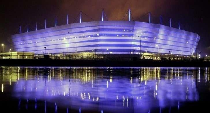 Стадион ЧМ-2018 в Калининграде введен в эксплуатацию Хорошие, добрые, новости, россия, фоторепортаж