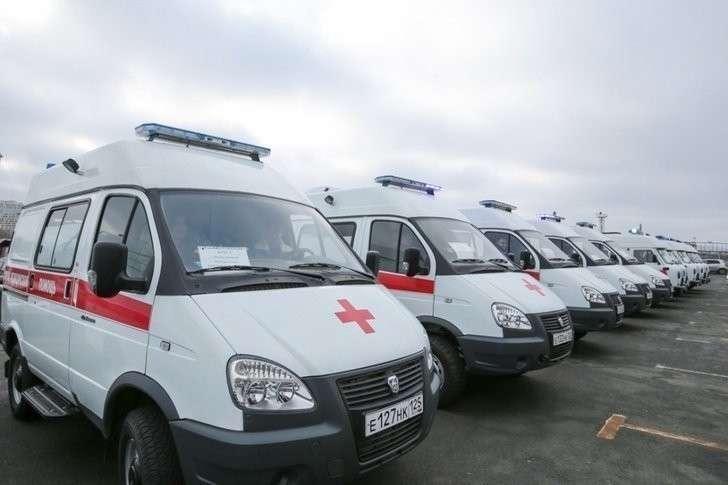 18 новых автомобилей скорой помощи отправились в города и села Приморья. Хорошие, добрые, новости, россия, фоторепортаж