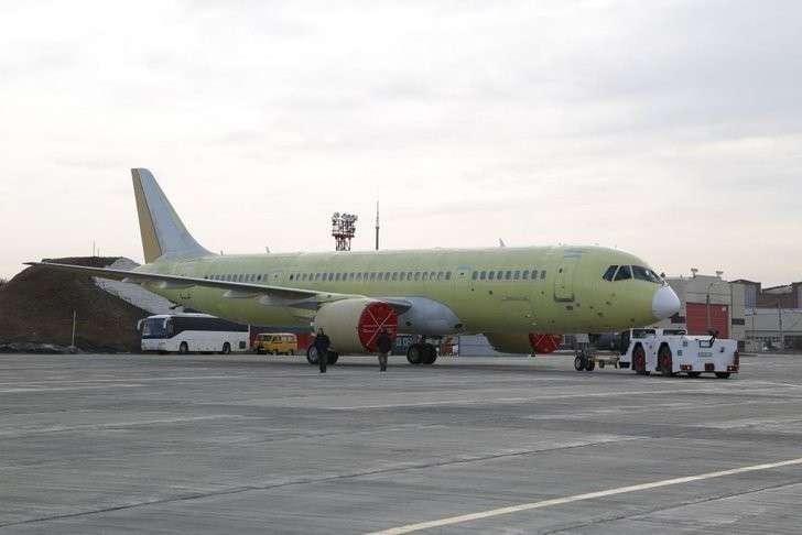 Построен второй самолет МС-21 Хорошие, добрые, новости, россия, фоторепортаж
