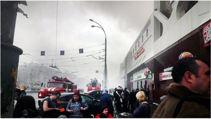 При пожаре в ТЦ Кемерово погибли дети, приехавшие отметить начало каникул