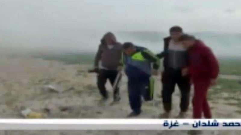 Израильские террористы применили БПЛА с химическими оружием против сидящих протестующих
