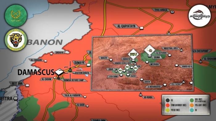 Сирия. Восточную Гуту покинут 7 тысяч наёмников, Турция подумывает об экспансии на юг