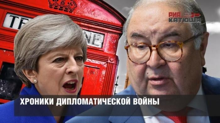 Англия и США готовятся грабить награбленное, МИД РФ выбирает какое консульство США закрыть