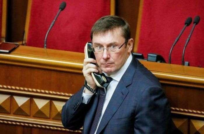 Еврей Луценко, почуяв неладное, начал пугать украинцев голодомором вслучае переворота