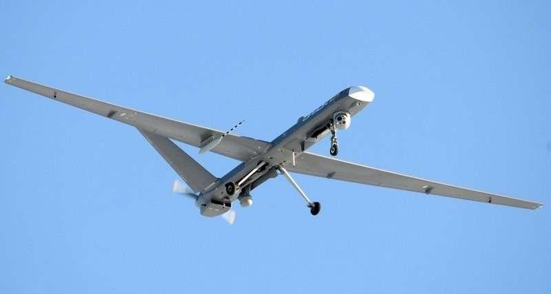 Первое фото нового российского ударного дрона