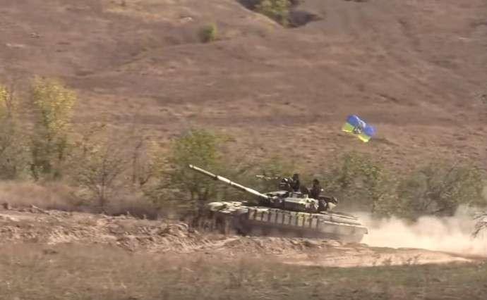 ОБСЕ уличила Украинских карателей в размещении танков у линии фронта в Донбассе