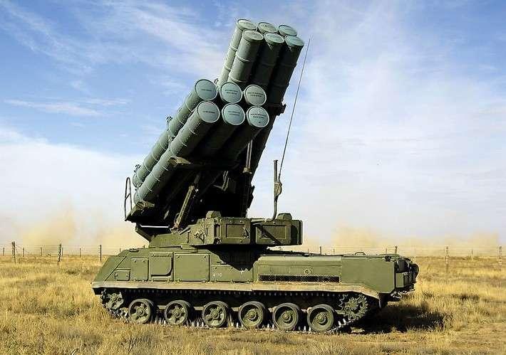 Новейшую российскую ЗРК «Бук-М3» впервые предложили наэкспорт