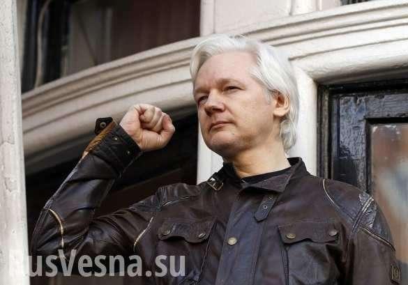 Джулиана Ассанжа отрезали отмира после заявления по«делу Скрипаля» | Русская весна