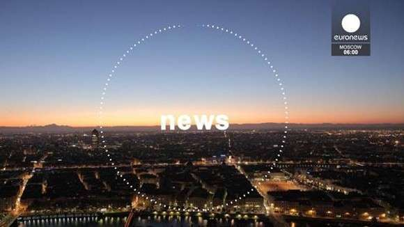 Дикари из Euronews показали расстрел портрета президента Владимира Путина