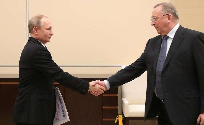 Рабочая встреча спредседателем правления ПАО «Транснефть» Николаем Токаревым.