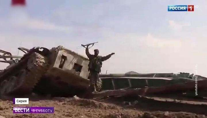 В Сирии массово сдаются американские наёмники в надежде сохранить себе жизнь