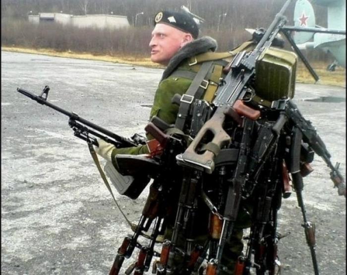 Русский юмор, как оружие против западной наглой лжи