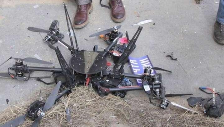 Первый дрон комом: беспилотник