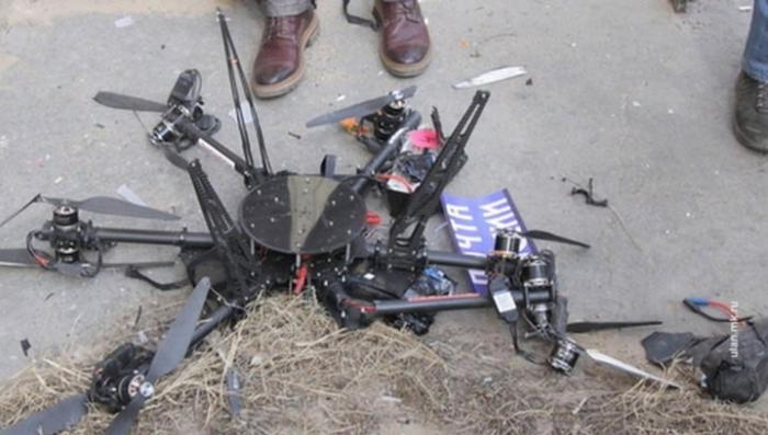 Первый беспилотник «Почты России» врезался в дом и разбился