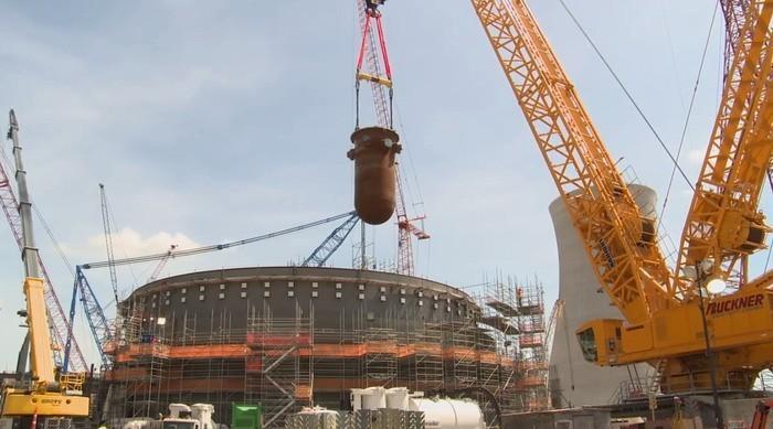 Пиндосы уже давно неспособны у себя сделать корпус ядерного реактора