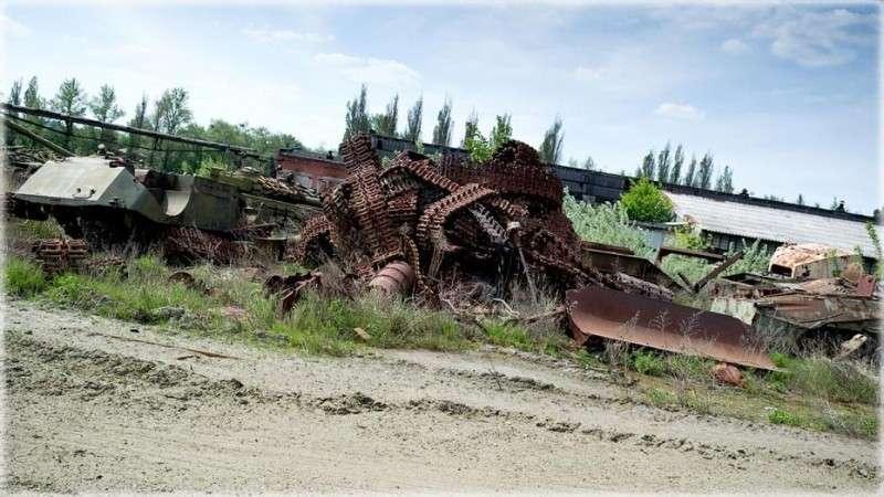 Отсталая Россия: какое импортозамещение? Кругом ржавеющие и разграбленные заводы