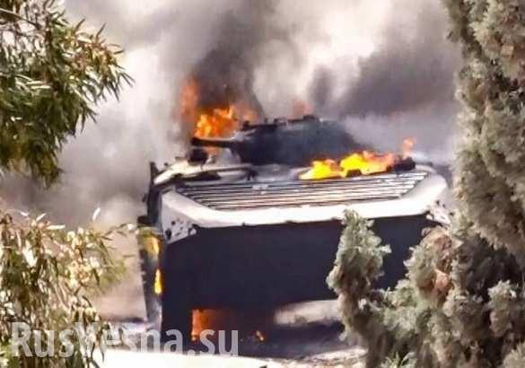 Сирия: боевики в Идлибе сжигают друг друга заживо