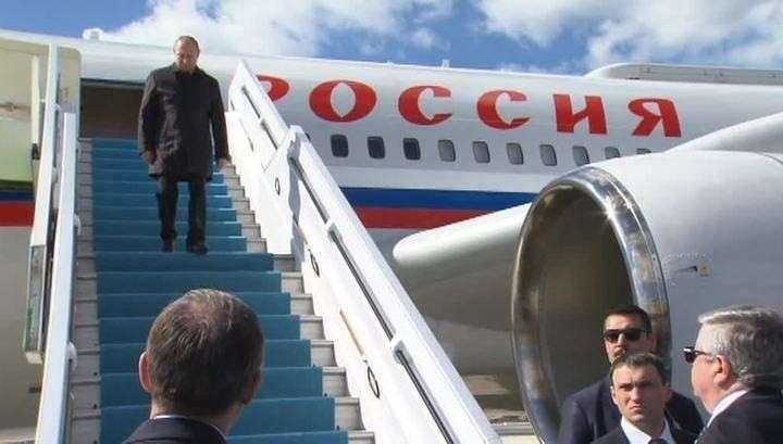 Путин прибыл в Анкару