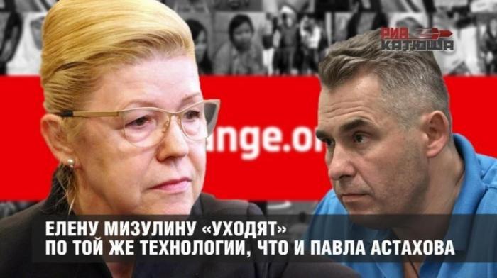 Елену Мизулину русофобы «уходят» по той же технологии, что и Павла Астахова