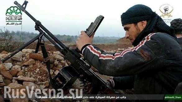 Сирия: тупой боевик случайно расстрелял гостей бандитской свадьбы | Русская весна