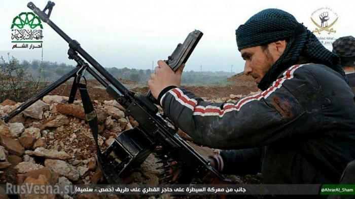 Сирия: тупой боевик случайно расстрелял гостей бандитской свадьбы
