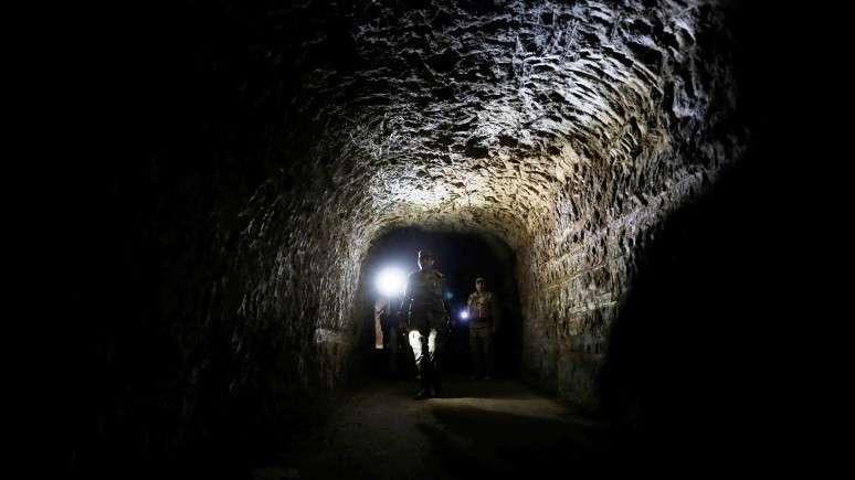 Запад создал для своих наёмников целую сеть подземных тоннелей вблизи Дамаска