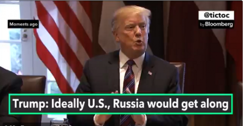 В ходе рабочего ланча Трамп рассказал трем прибалтийским лидерам о