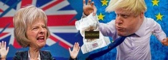 Старушка Мэй и дурачок Джонсон опозорили королеву и всю Британию