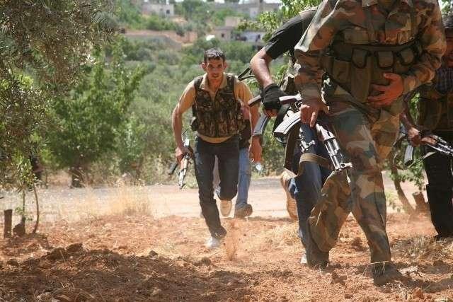Сирийские боевики
