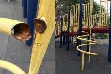 ИнфраструктураСША:23детских площадок Нью-Йорканаходятся в запущенном состоянии, 75 – опасны для жизни ребенка