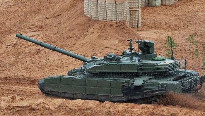 Российские танки начнут оборудовать кондиционерами