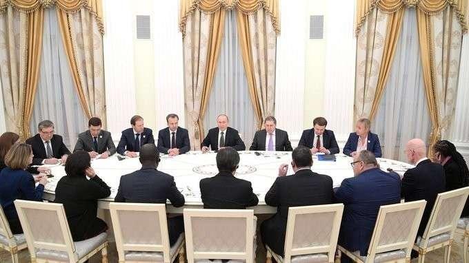 Встреча скомиссией Международного бюро выставок