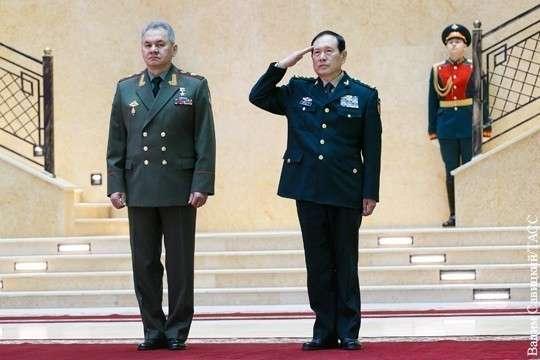 Китайский генерал в Москве чётко указал США на их место в Мире