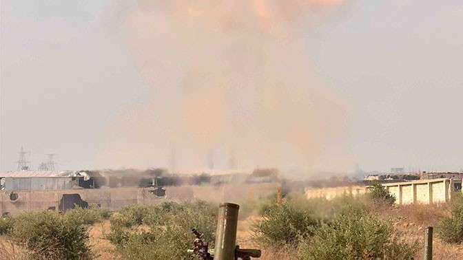 СМИ: партизаны в Сирии нанесли ракетный удар по американской базе