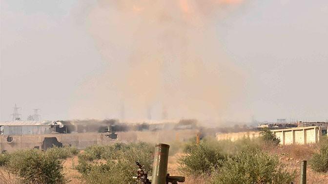 В Сирии партизаны нанесли ракетный удар по американской базе