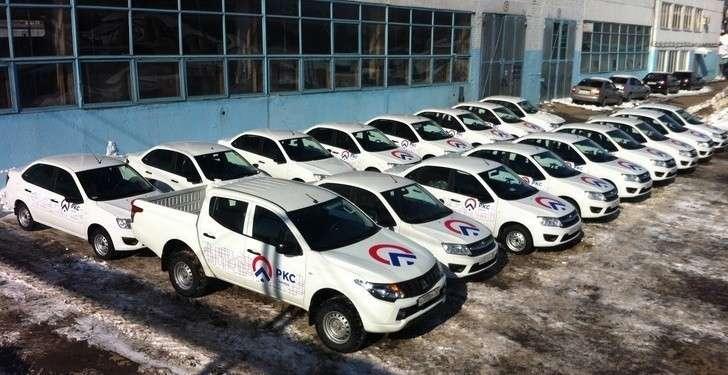 В Самаре коммунальные службы получили новые автомобили LADA GRANTA