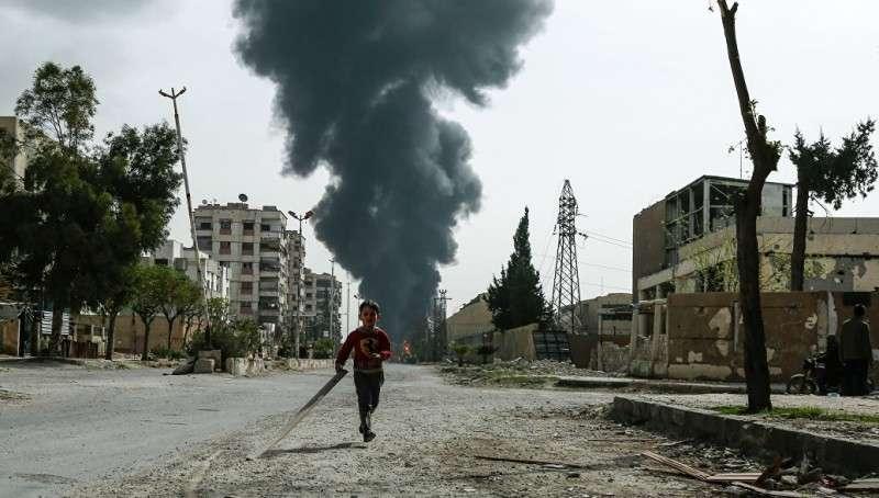 США осторожно врут о новом применении химоружия в сирийской Думе