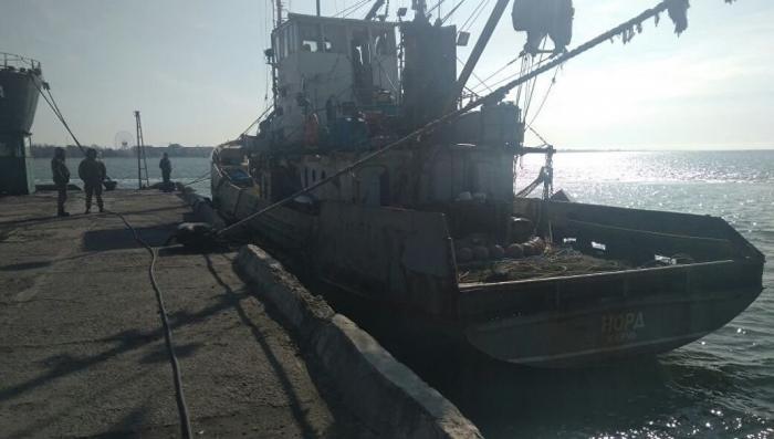 Экипаж судна «Норд» заблокировали на таможне