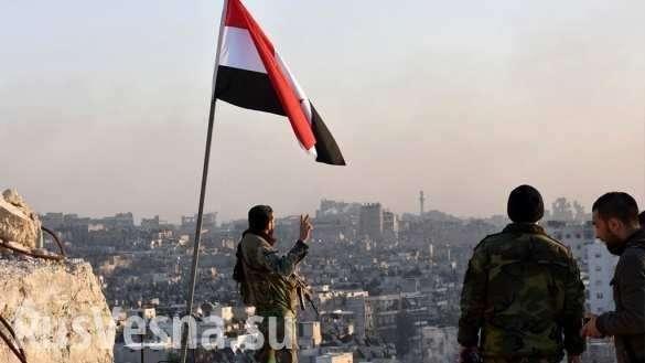 Сирия: партизаны атаковали базу спецназа США и подняли флаг над Раккой | Русская весна