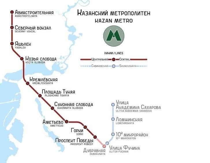 ВКазани началось строительство второй линии метро