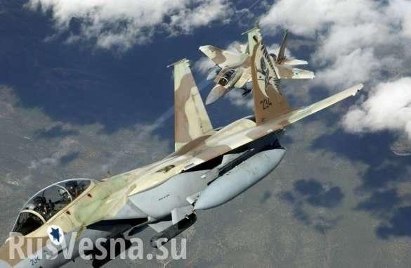 Террористический Израиль боится комментировать свой авиаудар по базе ВВС Сирии | Русская весна