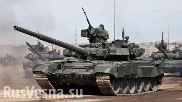 «Мощная колонна российских танков вошла в Украину!» – укрохунта паникует | Русская весна