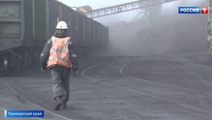 В Находке местные жители задыхаются от угольной пыли, массово гибнет рыба