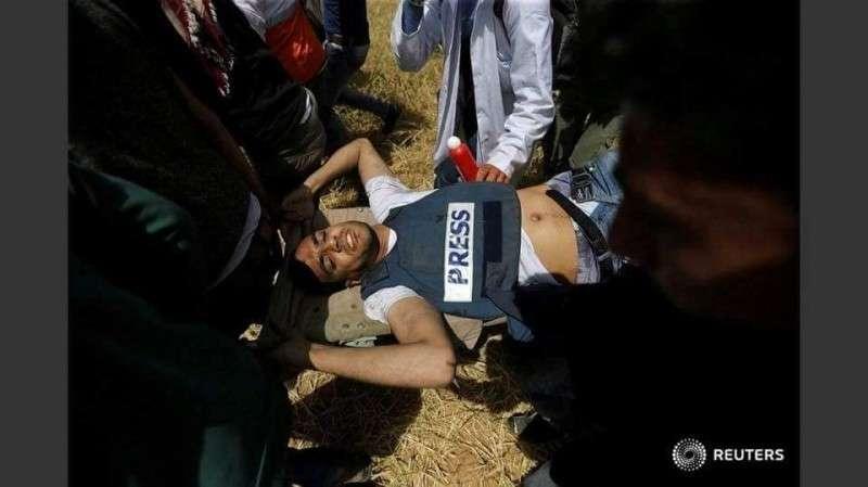 Еврейский террорист снайпер застрелил журналиста
