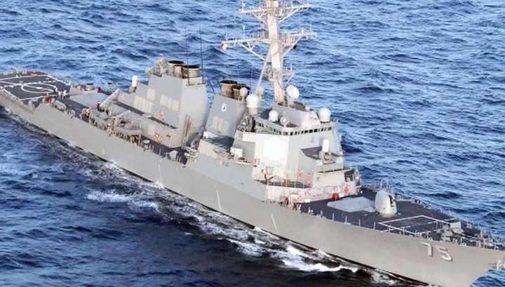 Сирия: США готовят удар. Американский эсминец появился рядом с Тартусом