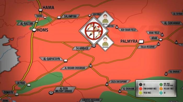 Террористический Израиль нанес ракетный удар по авиабазе Т4 Башара Асада. Подробности